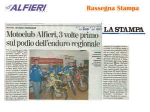 Resoconto Alfieri 2011-14