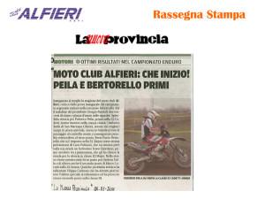 Resoconto Alfieri 2011-18